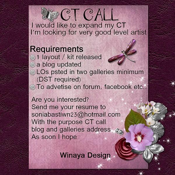 CT CALL Winaya Design  ***CLOS*** Ctcall11