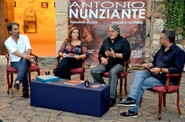 """""""Viaggio a Taormina"""" di Antonio Nunziante 4-30 Agosto 2012 Fondazione Mazzullo 00410"""