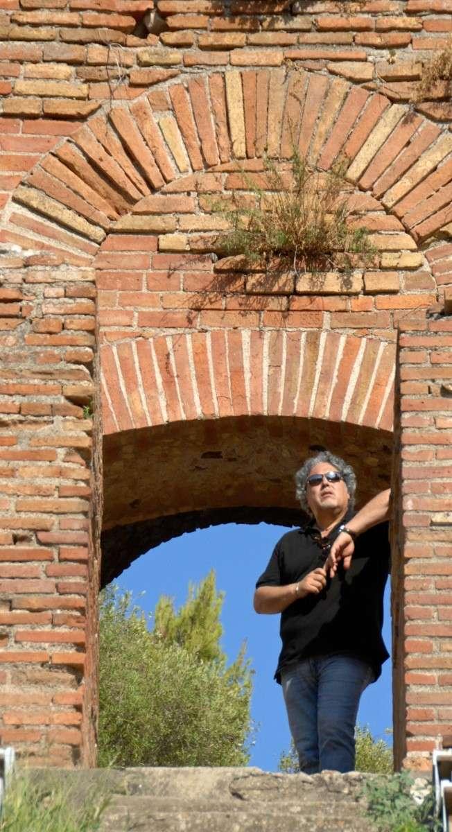 """""""Viaggio a Taormina"""" di Antonio Nunziante 4-30 Agosto 2012 Fondazione Mazzullo 00610"""