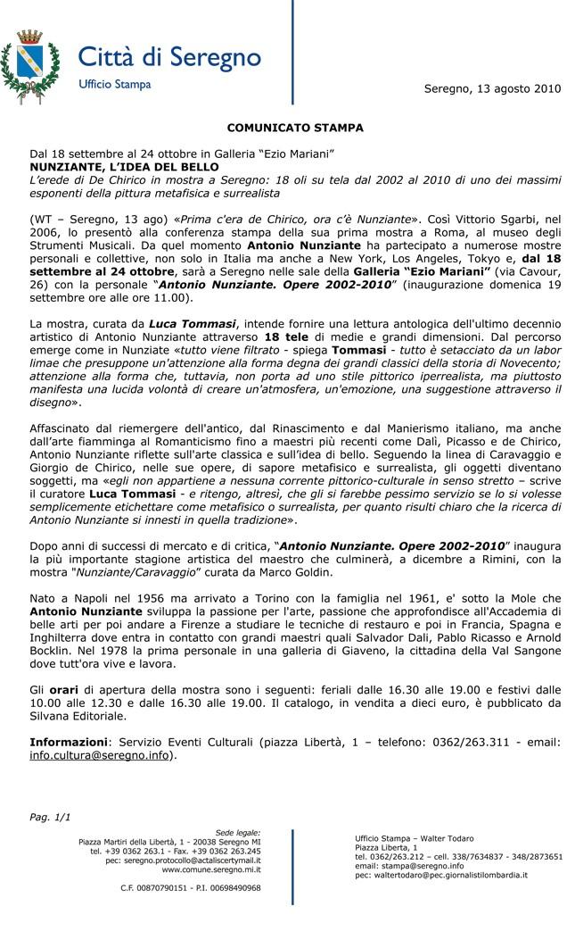 NOTIZIA IN ANTEPRIMA! SETTEMBRE 2010 MOSTRA A SEREGNO - Pagina 2 27081010