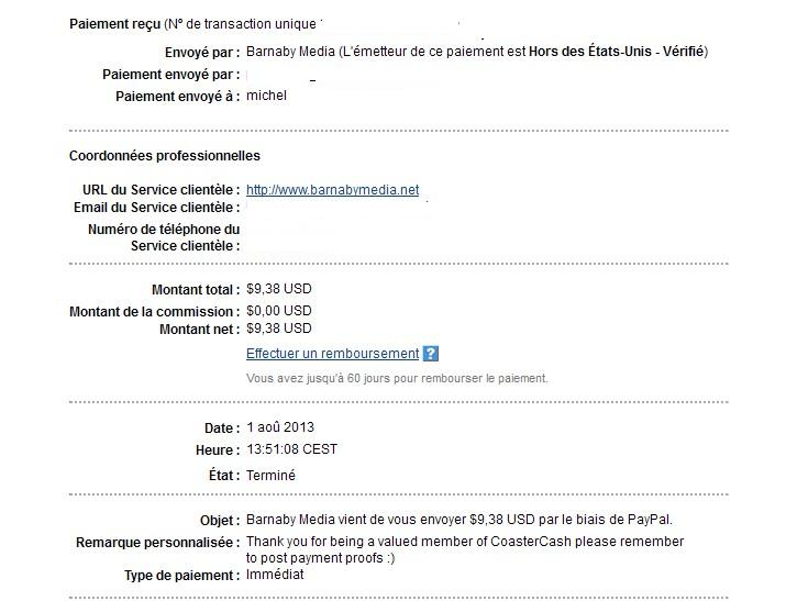 another nice and fast payment Coaste13