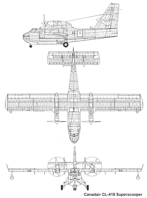 Construction d' un Canadair CL-415 en PSS! Canada10