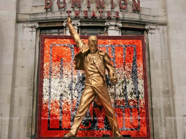 Le Dominion Theatre à Londres vous connaissait ? Freddi13