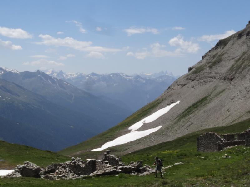 Fort du Mont Froid depuis la route du Petit Mont Cenis Dsc00730