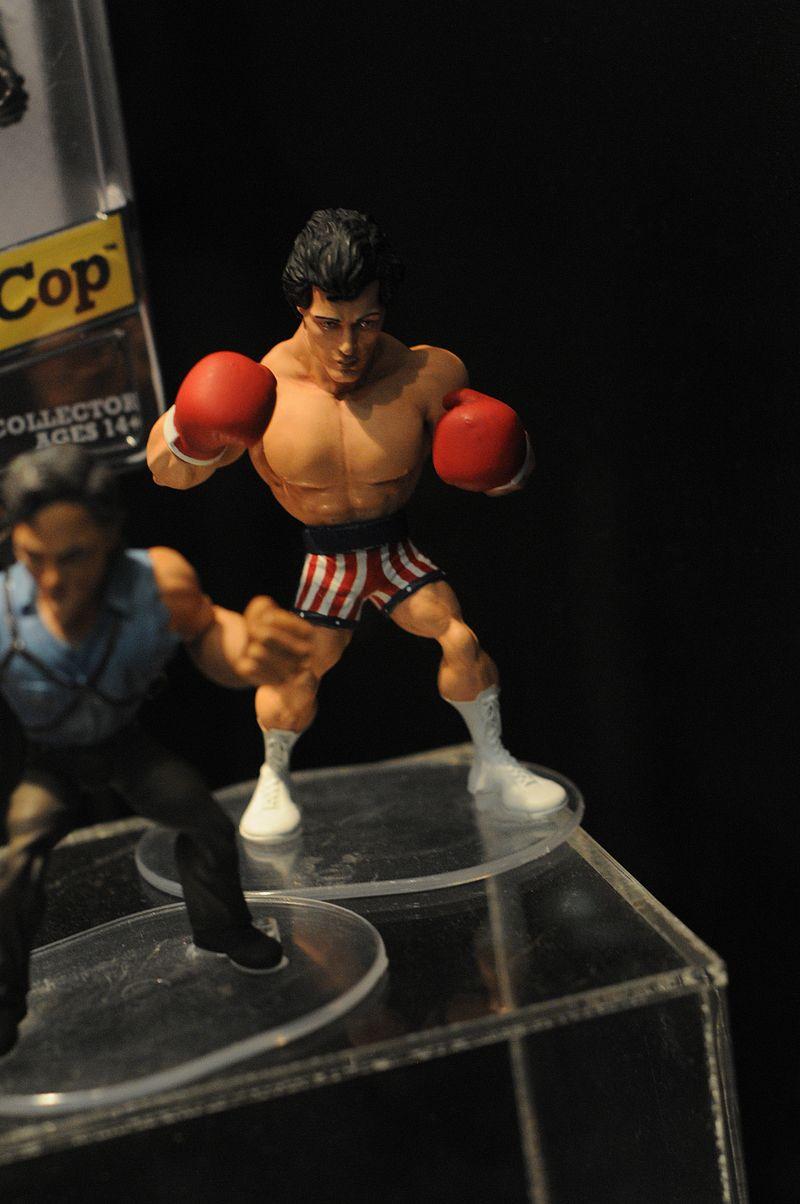 figurines rocky III & IV Sdcc2010