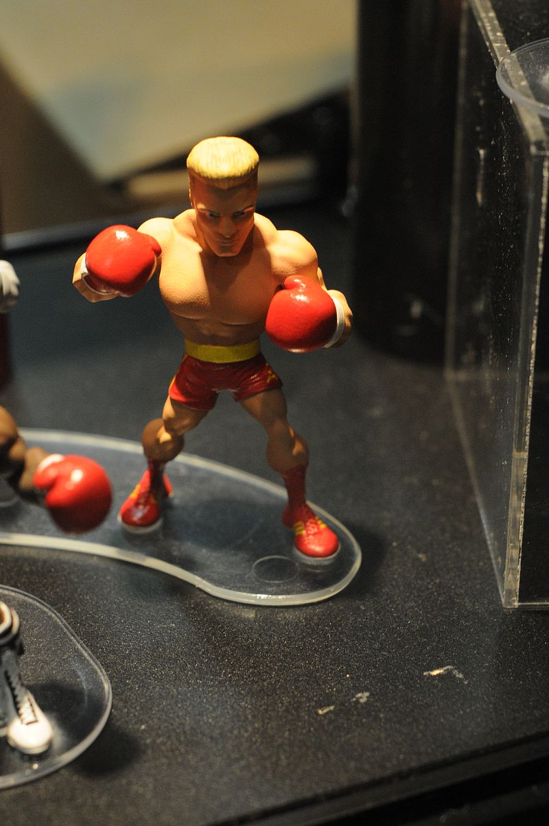figurines rocky III & IV Sdcc2011