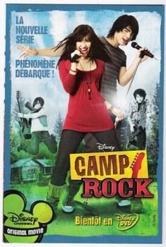 Camp Rock En DVD Disney [français]!! 30791710