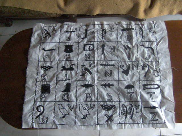 Objetos fabricados sobre el tema de egipto 00110