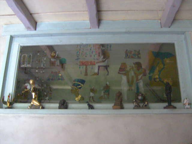 Objetos fabricados sobre el tema de egipto Vitrai10