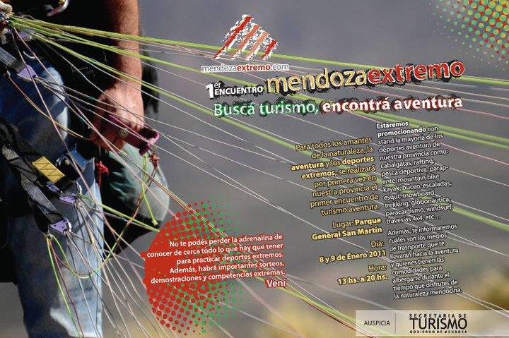 Skydive Mendoza en el 1er. Encuentro de Deportes Extremos::08y09 Ene:: Mza10