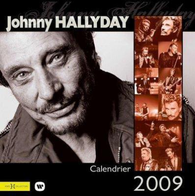 CALENDRIER 2009 JOHNNY HALLYDAY 19522610
