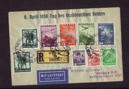 Luftpost,Erstflüge sammeln Brief12