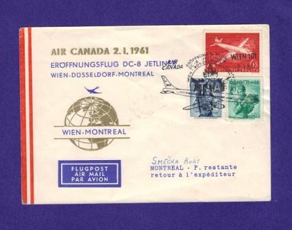 Luftpost,Erstflüge sammeln Flu210
