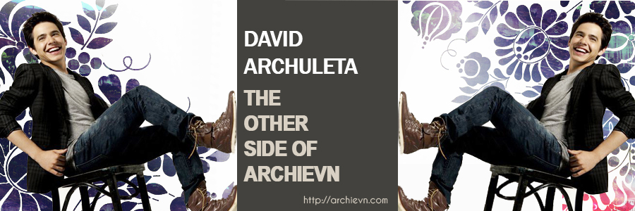 ~* David Archuleta fansite *~