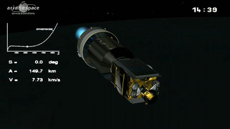 Lancement Ariane 5 ECA VA209 / Astra 2F + GSat 10 -28 septembre 2012 - Page 2 Capt_115