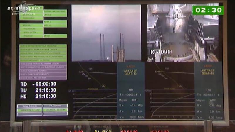 Lancement Ariane 5 ECA VA209 / Astra 2F + GSat 10 -28 septembre 2012 - Page 2 Capt_h45
