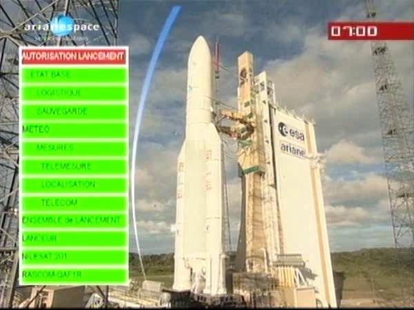 Ariane 5 ECA V196 / RASCOM-QAF 1R + Nilesat 201 (4 août 2010) - Page 4 Vlcsna12