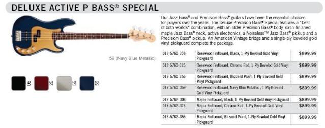 """Fenders """"especiais"""" 211"""