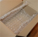 How to pack either Ceramic or Glass for shipment. ENGLISH & GERMAN Box_wi10