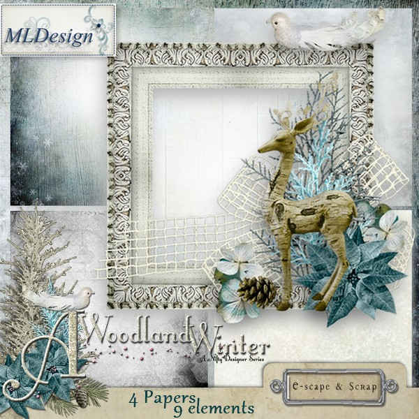 A Woodland Winter:  post your stuff here Mldesi88