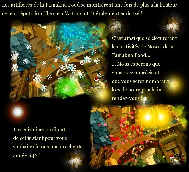 Fermeture du Restaurant Famakna Food 2010