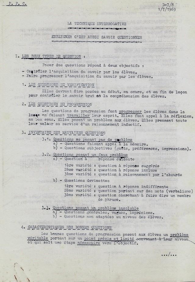 [Divers écoles de spécialité] COURS de PEDAGOGUE - Page 2 Numeri24
