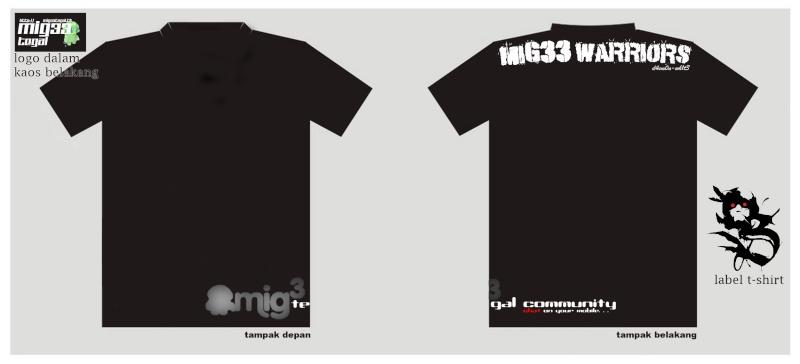 Pembuatan Kaos Mig33t11