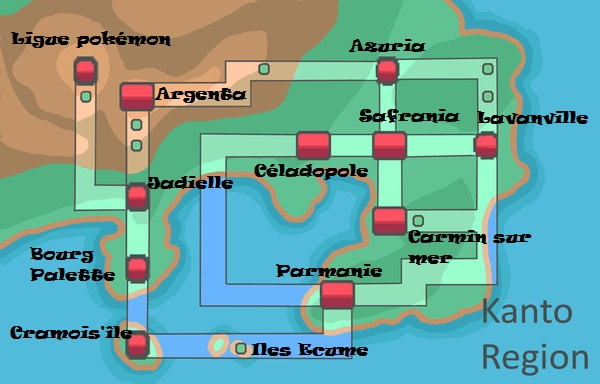 Carte des Régions R101qu10