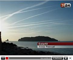Desinformación en TV3 sobre los chemtrails Screen11