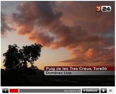 Desinformación en TV3 sobre los chemtrails Screen13