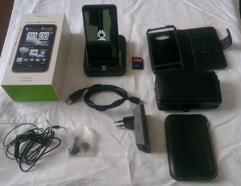 HTC HD2 16Go Housse dock bureau tout opérateurs Imag1010