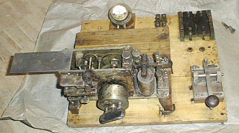 Советские клоны зарубежных аппаратов Морзе Mps1fr10
