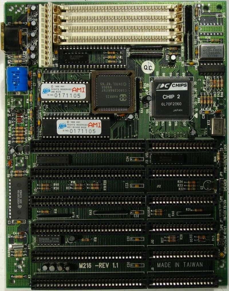 Наиболее продвинутая матплата 286 серии - М216 Ua_m2110