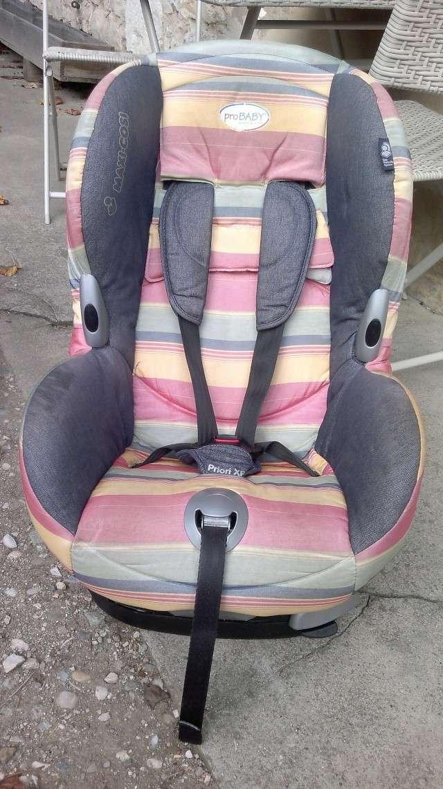 Vends 2 sièges auto Maxi Cosi Priori XP groupe 1 (9-18 kg) - VENDUS 24102010
