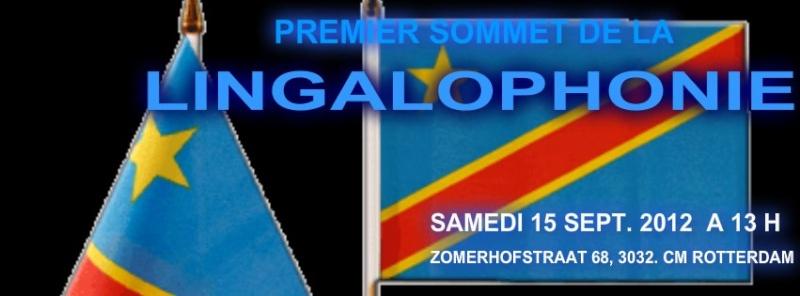 PREMIER SOMMET DE LA LINGALOPHONIE (SAMEDI 15/09/2012 A ROTTERDAM)  54590510