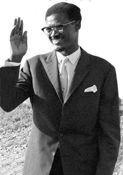 Patrice Lumumba, le premier chef de gouvernement congolais mort le 17 janvier 1961 Lumumb10