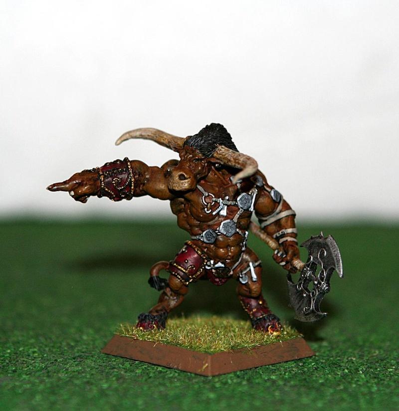 beastmen - Beastmen Raider Minotaur - Help Minota11