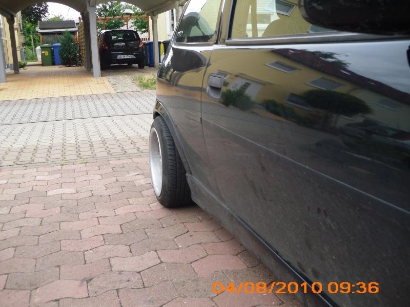 Destrcrs Corsa B  neuer Lack steht fest und ein paar Neuteile.. Dsci0011
