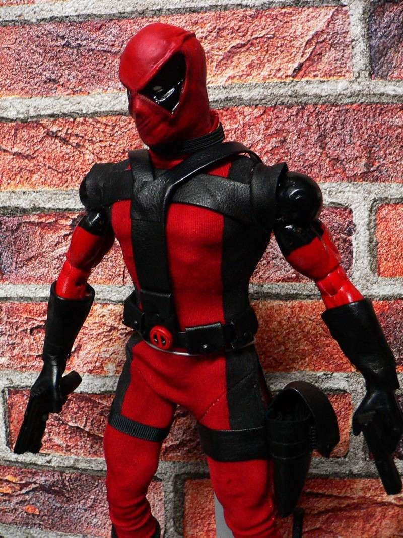 CUSTOM DEADPOOL 1/6, 12 INCH, 30 CM 110