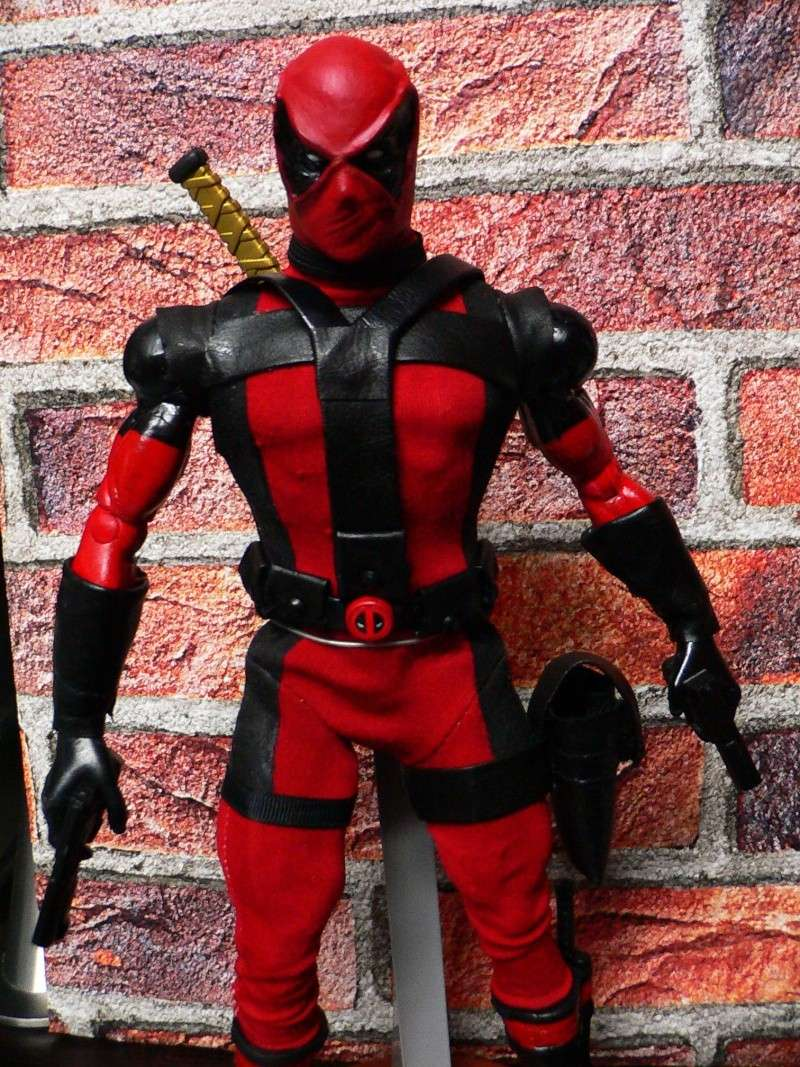 CUSTOM DEADPOOL 1/6, 12 INCH, 30 CM 210