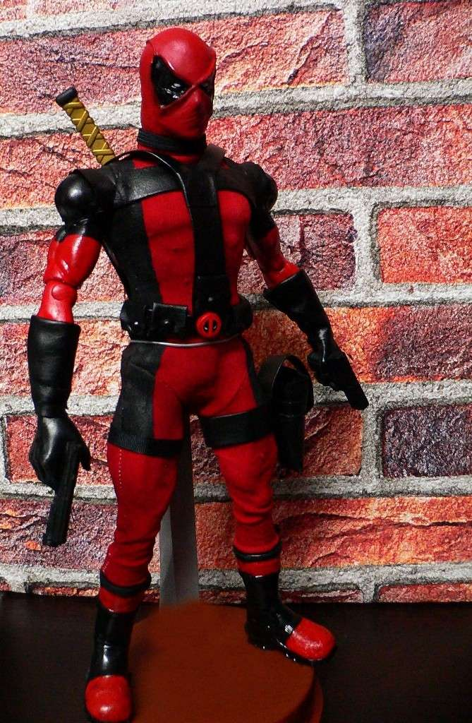 CUSTOM DEADPOOL 1/6, 12 INCH, 30 CM 310