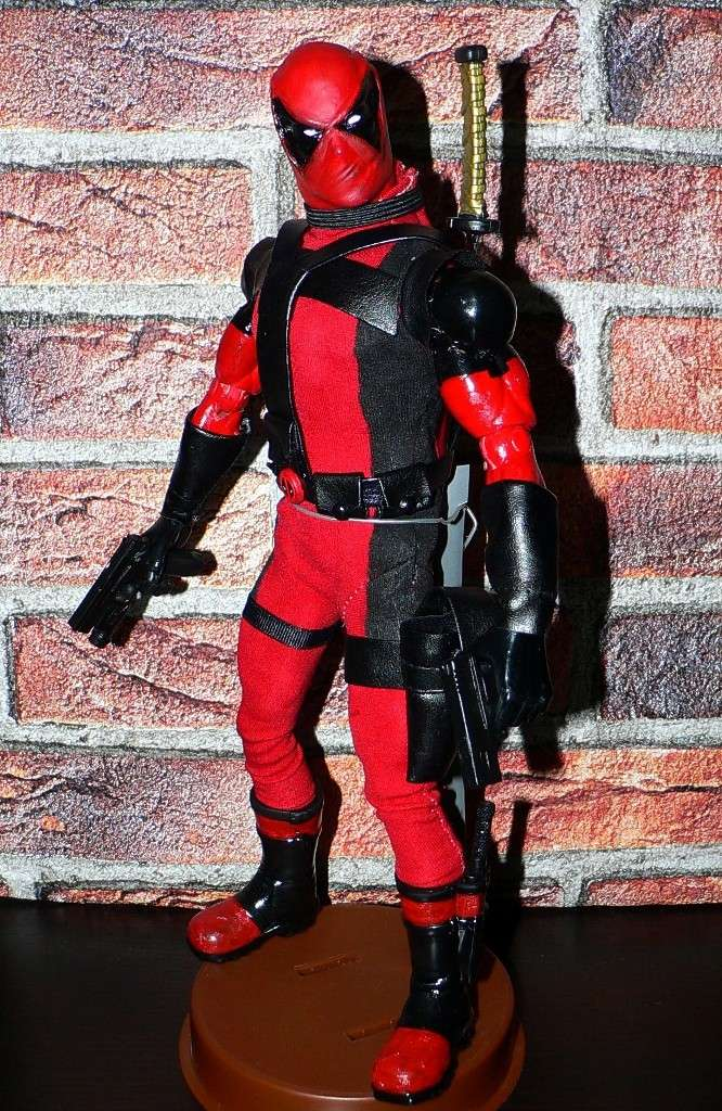 CUSTOM DEADPOOL 1/6, 12 INCH, 30 CM 410