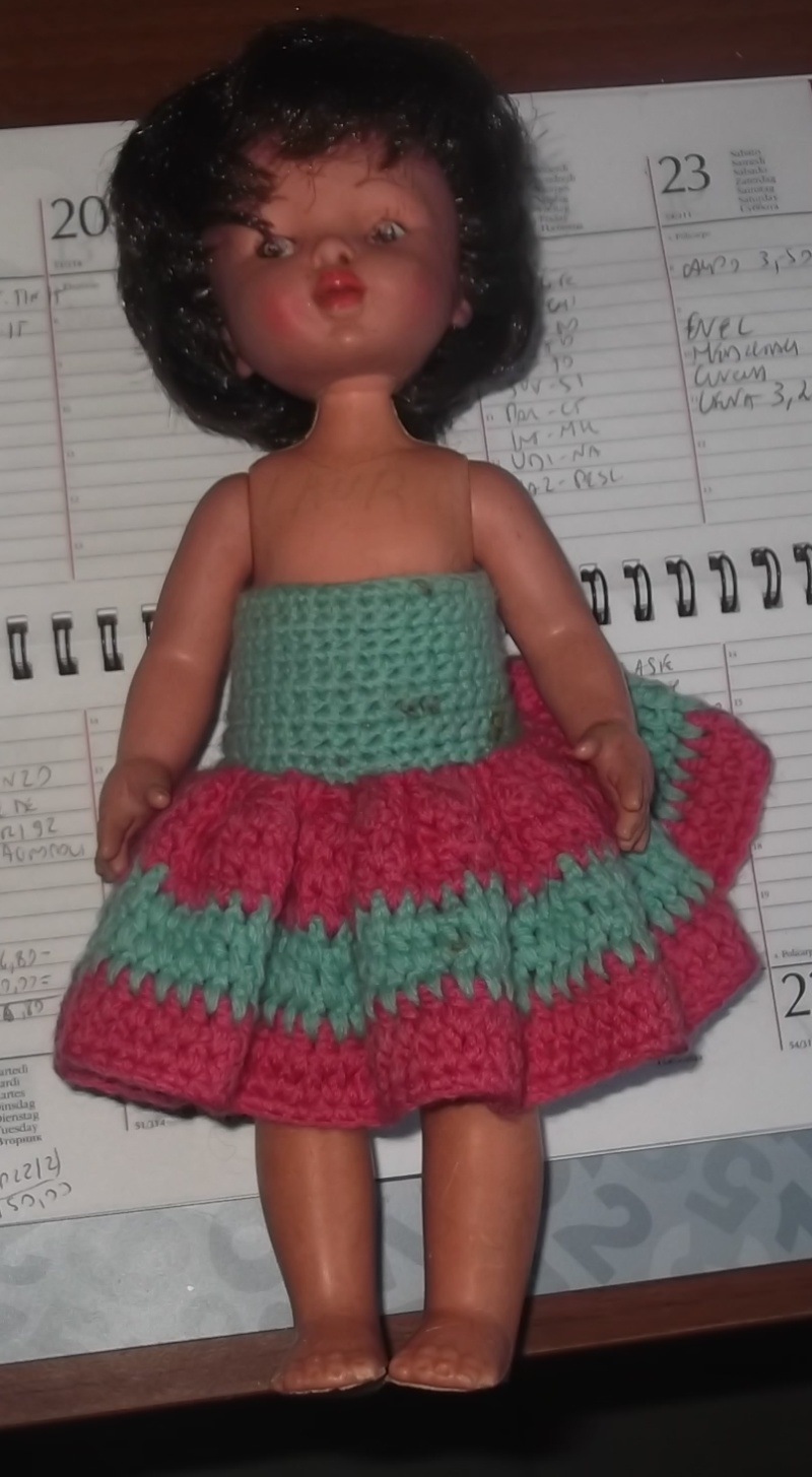 Cerco bambole Furga anni 60/70.  Bambol12