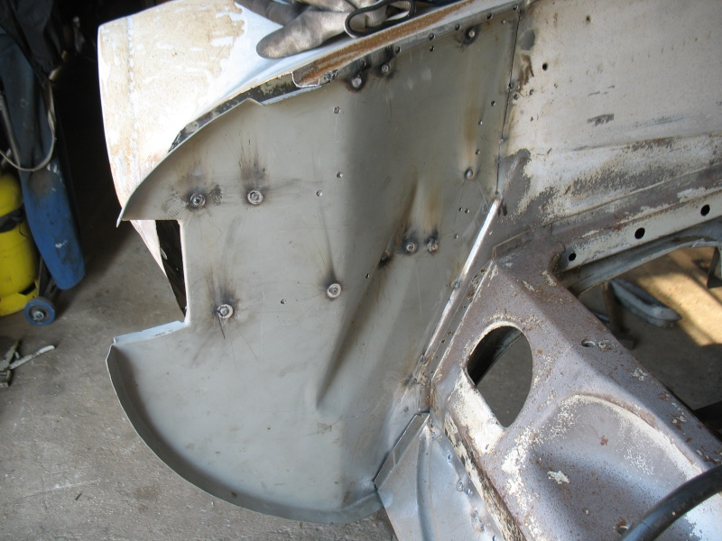 restauration kg cab de 1963 - Page 2 Karman17