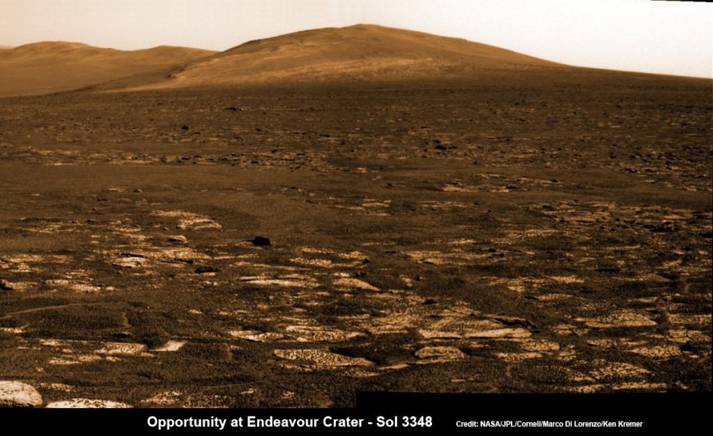 opportunity - Opportunity et l'exploration du cratère Endeavour - Page 5 Opport11