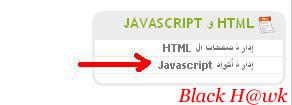 شرح اضافة اكواد JavaScript للمنتدى 310
