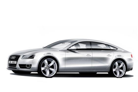 4-doors coupé on Serapis basis Audi_c10