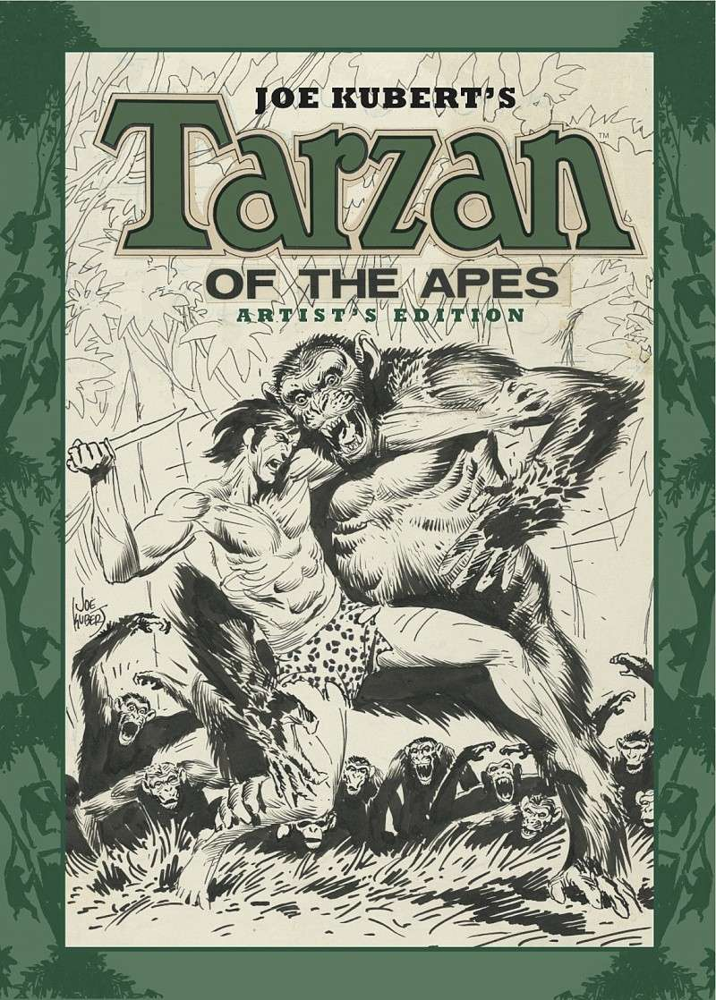 Joe KUBERT - Page 2 Tarzan10