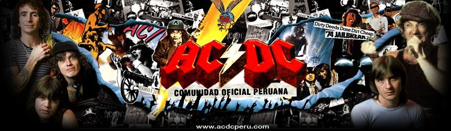 Comunidad Oficial Peruana de Fans de AC/DC