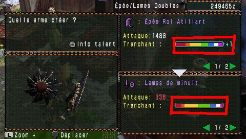 Information sur le Tranchant Lamede10